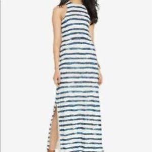 Ralph Lauren women's striped maxi dress